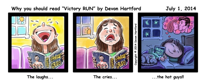 Victory RUN Cartoon-01