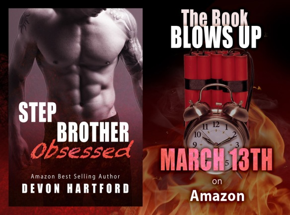 Stepbrother Obsessed by Devon Hartford
